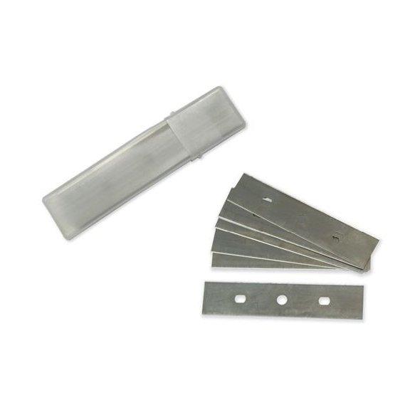 Pack 10 cuchillas para rascador cristal 10 cms