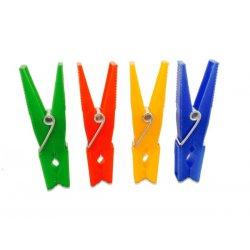 Pinzas para tender ropa. Pack 24 uds