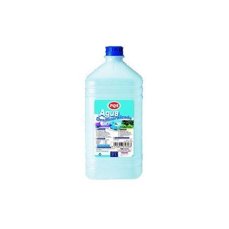 Agua desmineralizada. Bot 2 L