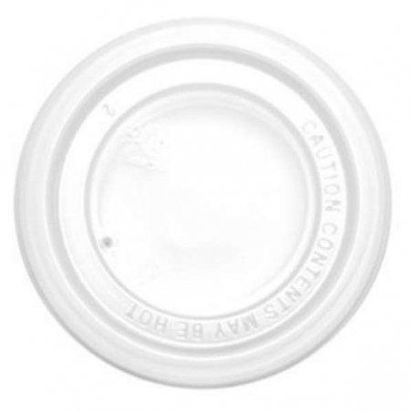 Tapa para vaso térmico de Porex de 200 cc. Pack 100 uds