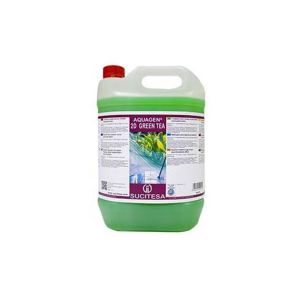 Limpiador suelos neutro. Efecto extraperfumado. BT 5 L. Green Tea