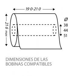 Dimensiones compatibles dispensador de papel autocorte CleanTech