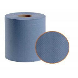 Rollos de Celulosa Azul ecológica 2 capas 140 mts. Pack 6 uds.