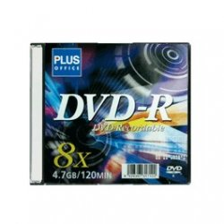 DVD Grabable 8x 4,7Gb 120Min Funda rígida