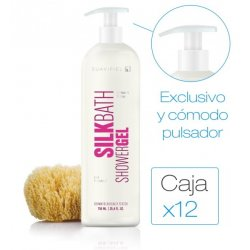 Gel PH Neutro Silk Bath 750 ml con pulsador. Caja 12 bot