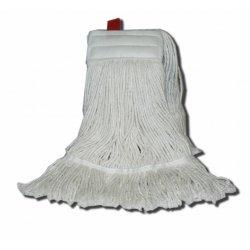 Fregona industrial Kentucky algodón blanco extra 400 grs. 2 bandas