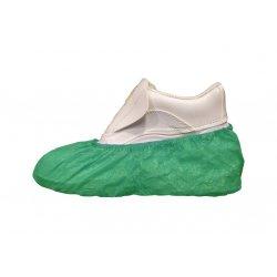 Cubrecalzado desechable Verde en Polietileno. Pack 100 uds