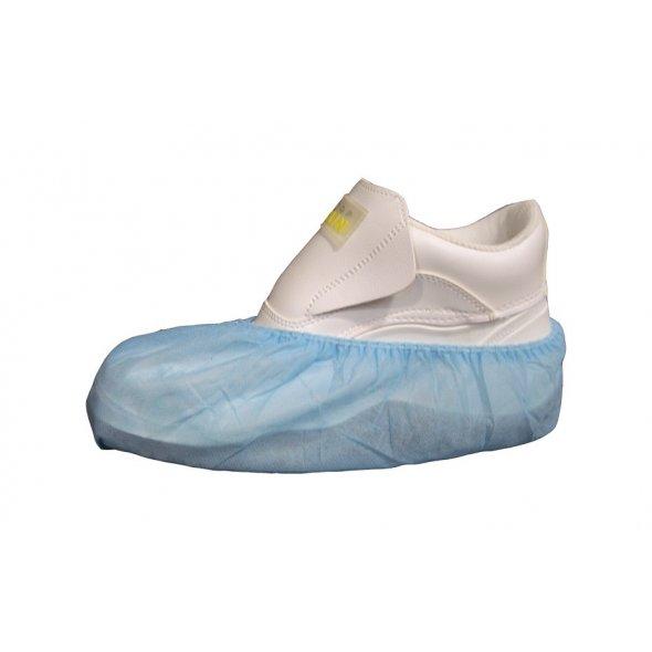 Cubrecalzado desechable Azul en PoliPropileno. Pack 100 uds
