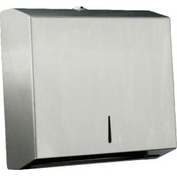 Dispensador toallas ZigZag acero inoxidable satinado