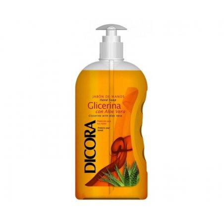 Jabón de manos dosificador Glicerina con Aloe Vera