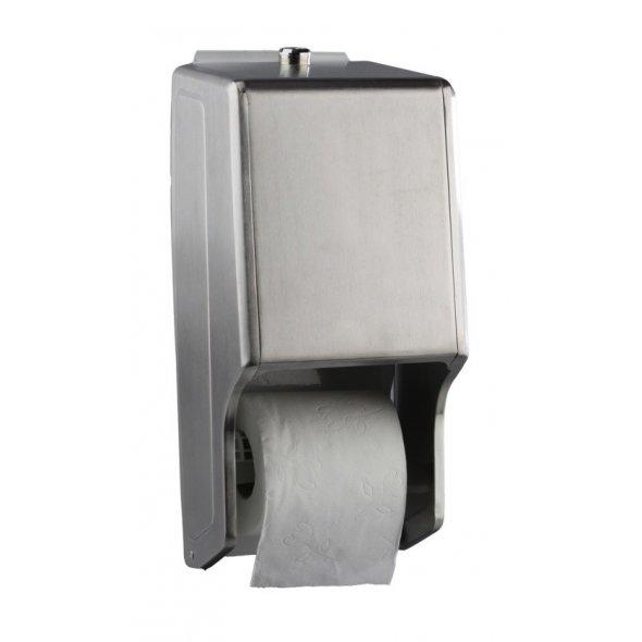 Portarrollos papel higiénico doméstico acero inoxidable