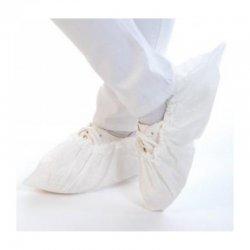 Cubrecalzado desechable Blanco en PoliPropileno. Pack 1000 uds