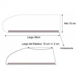 Cubrecalzado desechable antideslizante. Caja 1000 uds