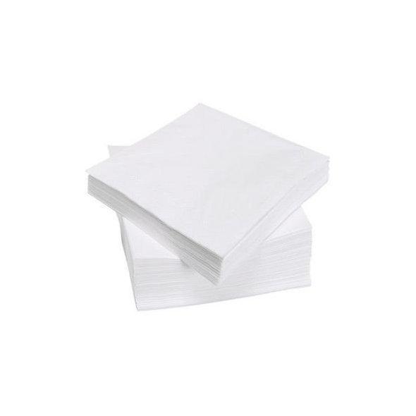 Servilletas 40x40 textura Extra. Pack 50 uds. Blancas