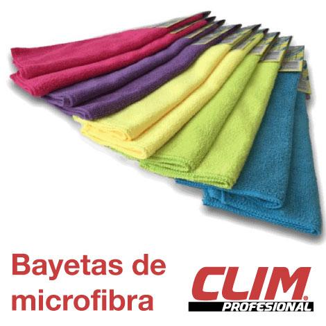 Bayetas de Microfibra.