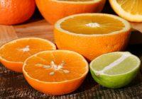 naranjas y limones dando buen olor