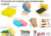 Productos de limpieza a granel, para profesionales en ClimProfesional.