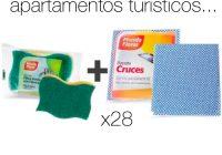 Set de productos de limpieza