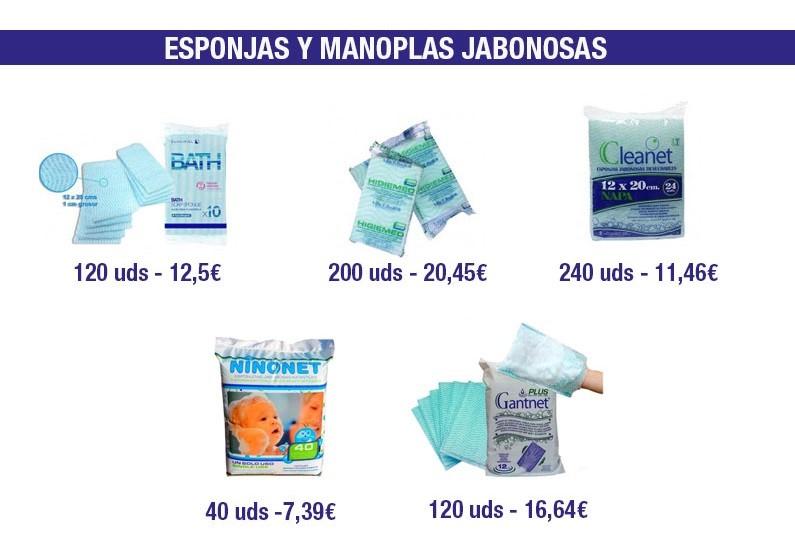 usar esponjas jabonosas