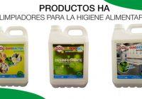 limpiadores para el sector alimentario
