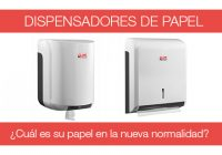dispensadores de papel