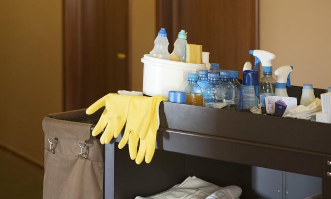 carro de limpieza hoteles