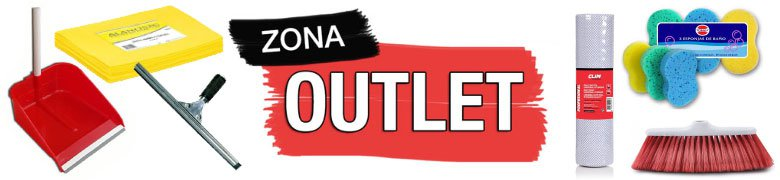 zona outlet limpieza