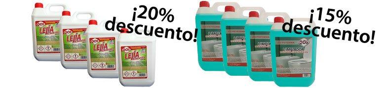 descuentos productos quimicos de limpieza