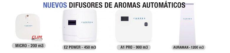 Difusores de aromas automáticos